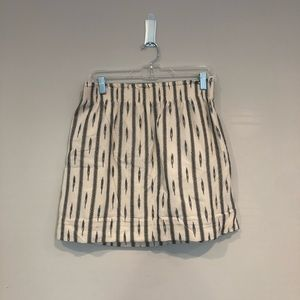 J. Crew Patterned Sidewalk Skirt